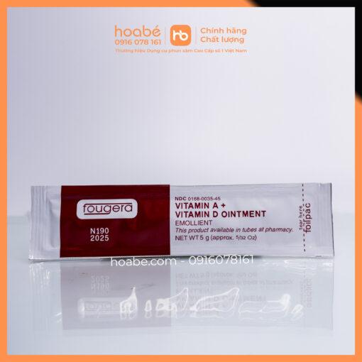 Kem dưỡng ẩm da Fougera Vitamin AD Ointment chăm sóc hình xăm phun môi mày 2021 DCPX HOA BÉ